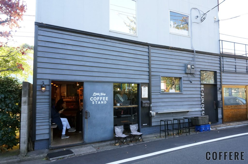 Little Nap COFFEE STANDの外観
