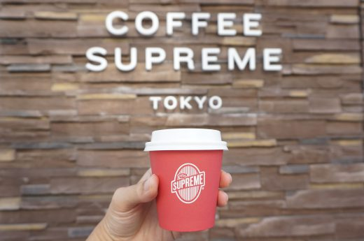 COFFEE SUPREME TOKYOのホワイトフラット