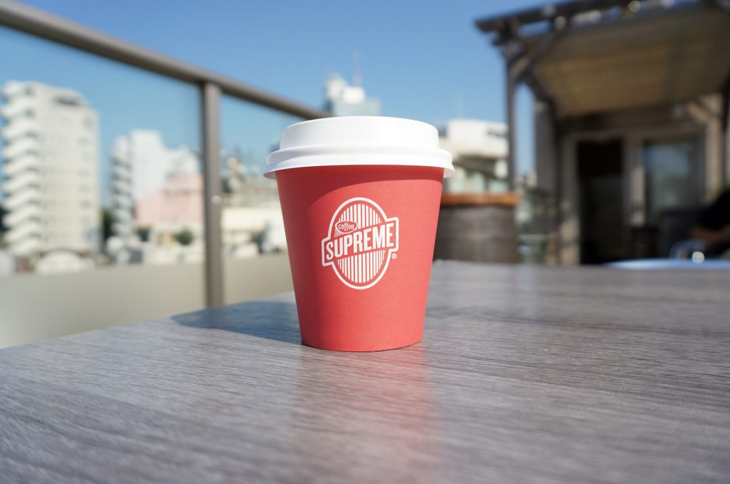 COFFEE SUPREME TOKYOのテラス