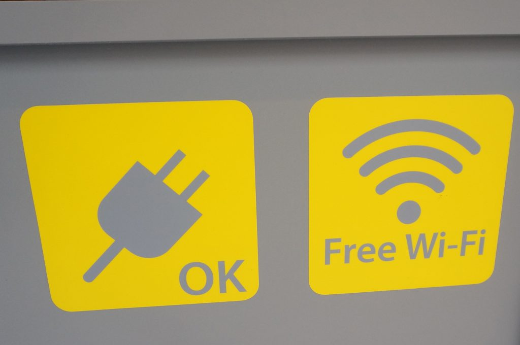 andcoffee_電源とwifi
