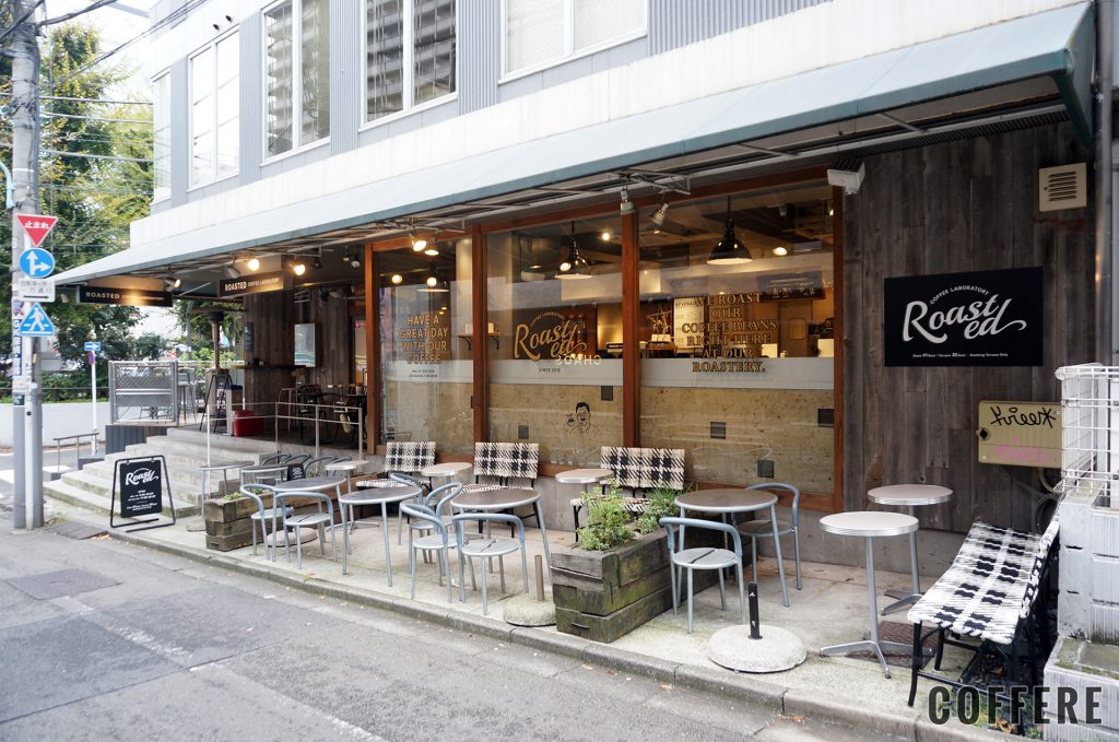 Roasted COFFEE LABORATORY 渋谷神南店の外観