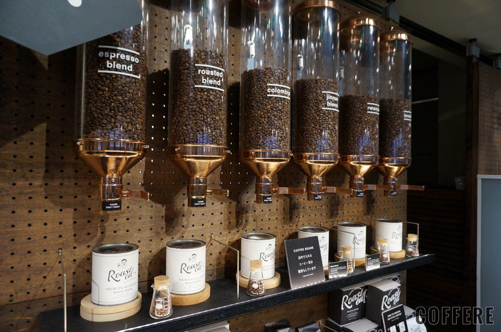 Roasted COFFEE LABORATORY 渋谷神南店のコーヒー豆