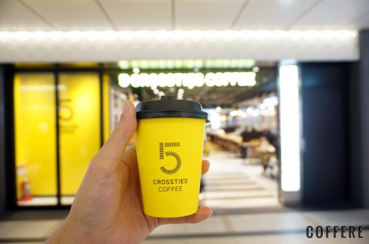 5 CROSSTIES COFEE グランスタ店のテイクアウトカップデザイン