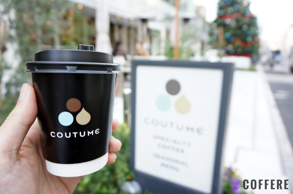 COUTUMEのカフェラテ
