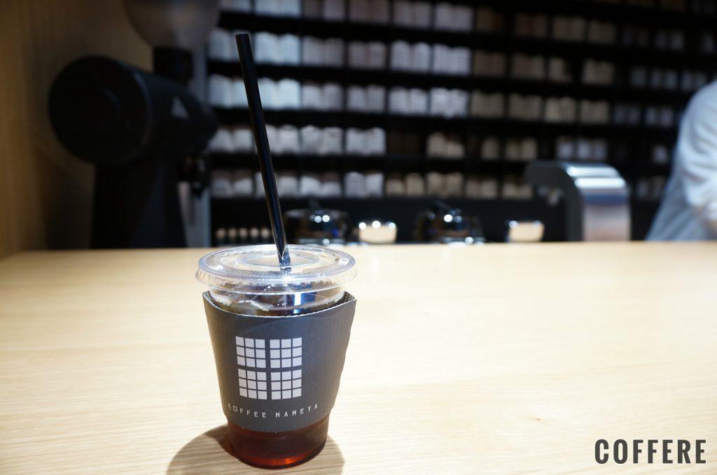 KOFFEE MAMEYAのアイスコーヒー
