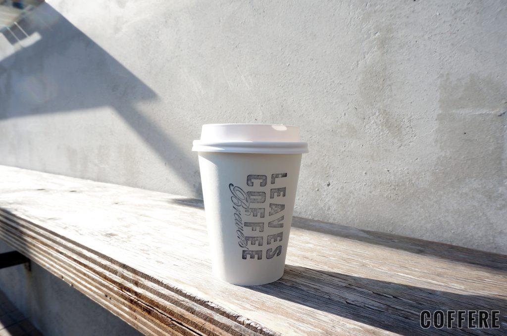 LEAVES COFFEE APARTMENTのテイクアウトカップデザイン