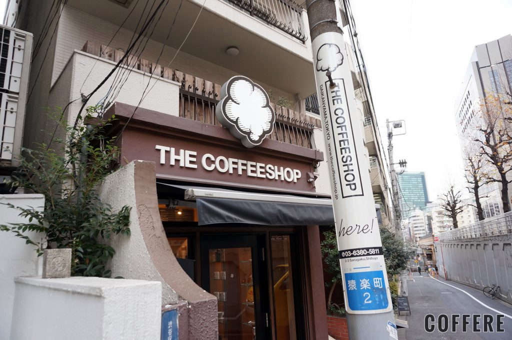 THE COFFEESHOPの入り口