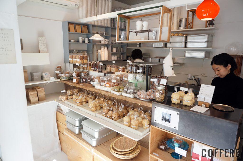 SHOZO COFFEE STORE TOKYOの販売コーナー