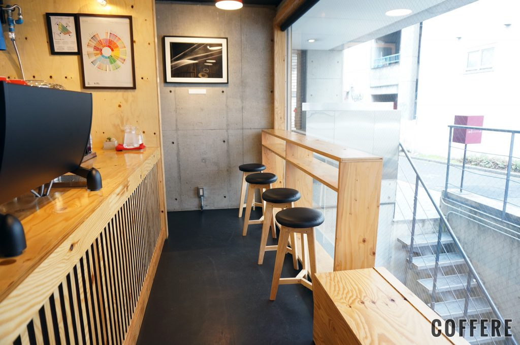 HEART'S LIGHT COFFEEの店内