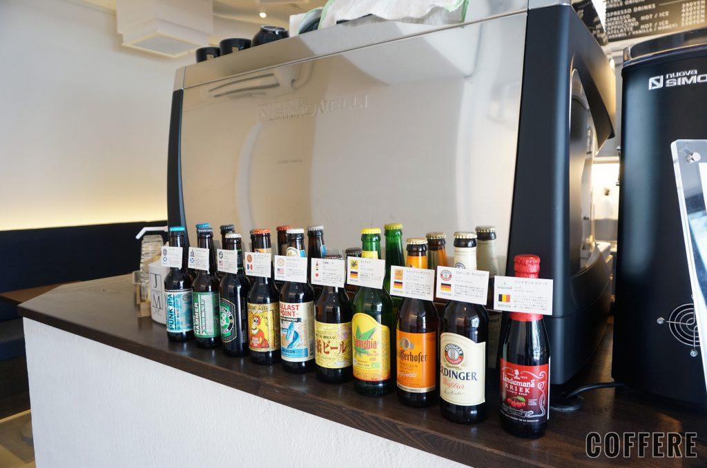it COFFEEのエスプレッソマシンとクラフトビール