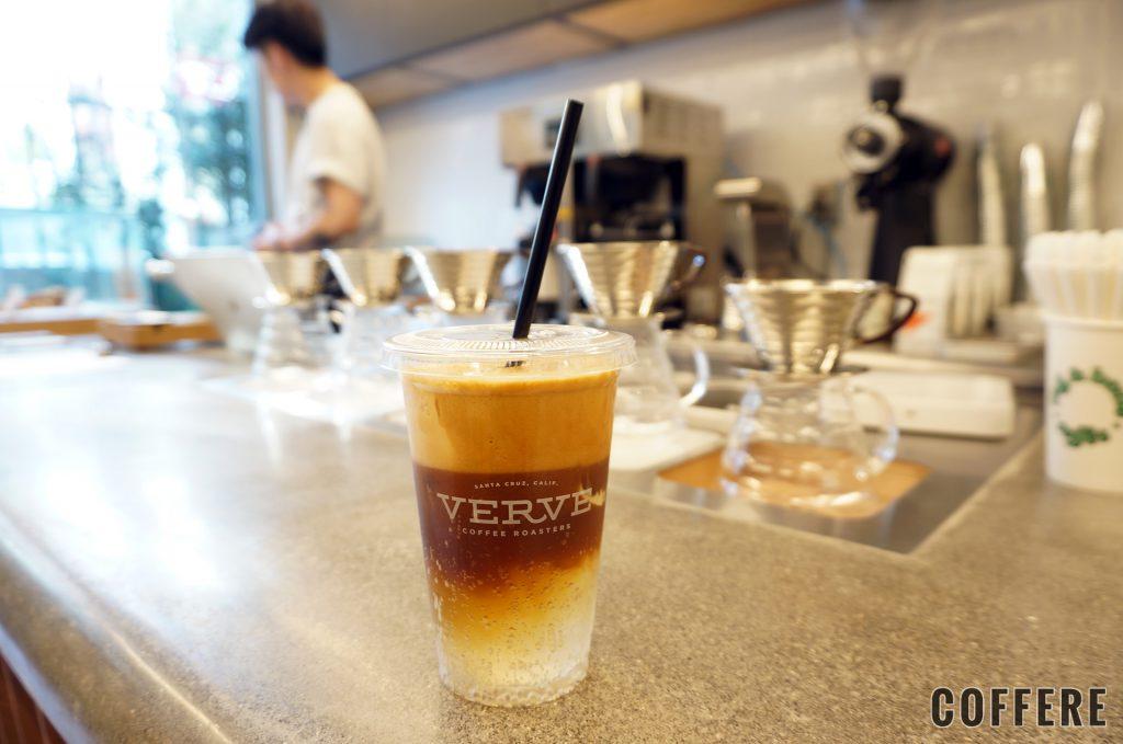 rag & bone X Verve Coffee Roastersのテイクアウトカップ(カッフェトニック)