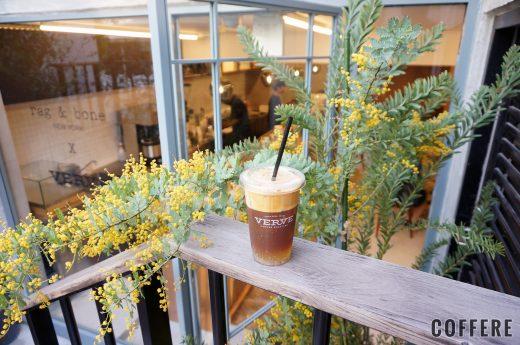 rag & bone X Verve Coffee Roastersのカフェトニックとミモザ