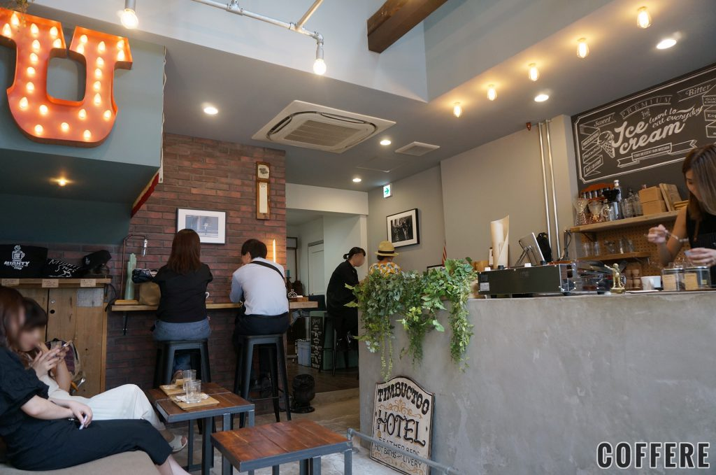MIGHTY STEPS coffee stopの店内