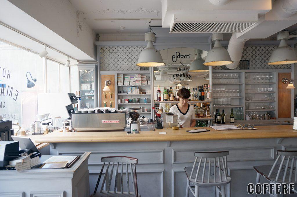 HOTEL EMANONのカフェバー