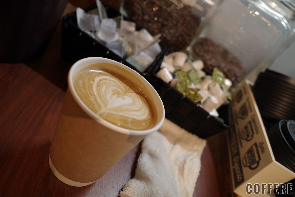 COFFEE PIT STOPカフェラテR