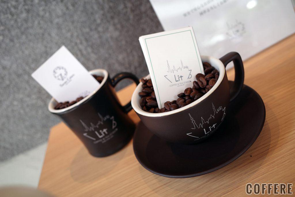 LIT COFFEE&TEA STANDのカップ