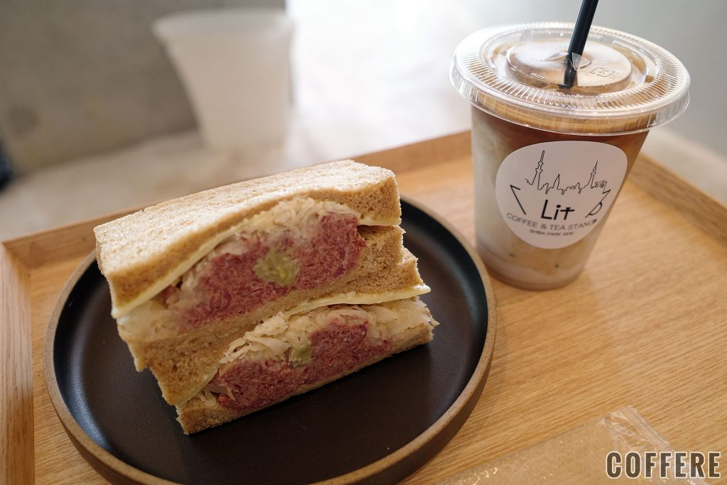 LIT COFFEE&TEA STANDルーベンサンドイッチ