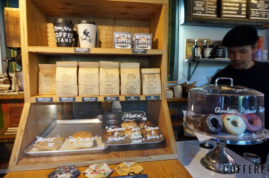 Little Nap COFFEE STANDの店内