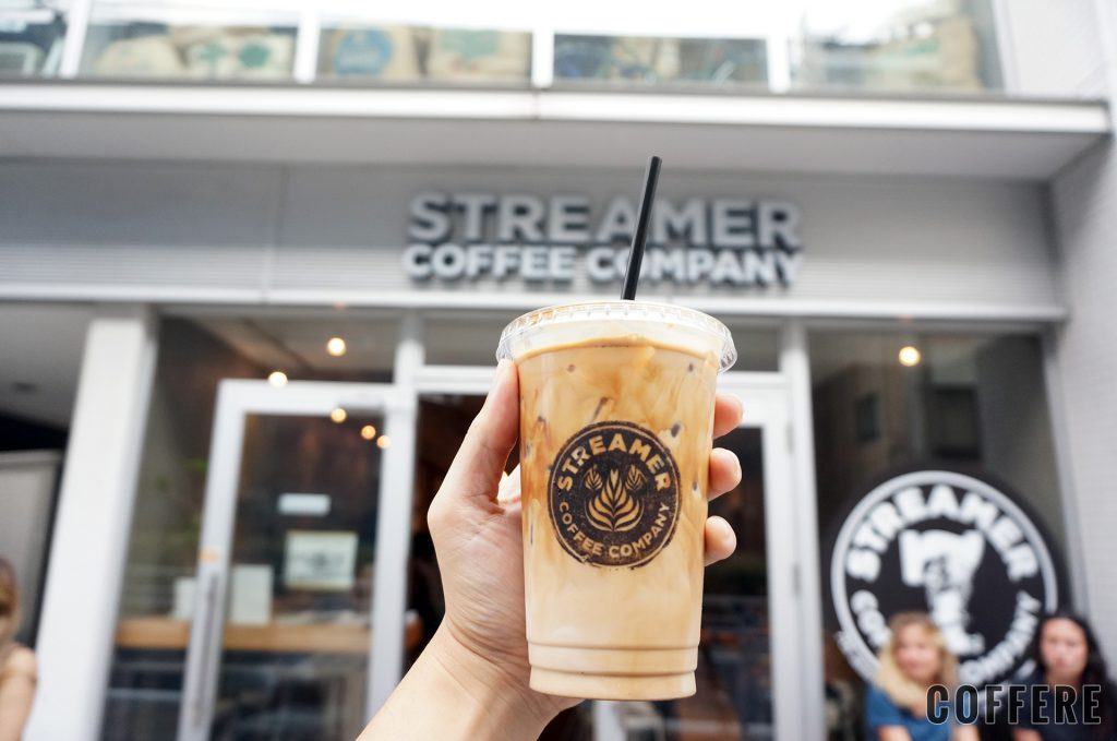 STREAMER COFFEE COMPANY SHIBUYA_アイスラテ