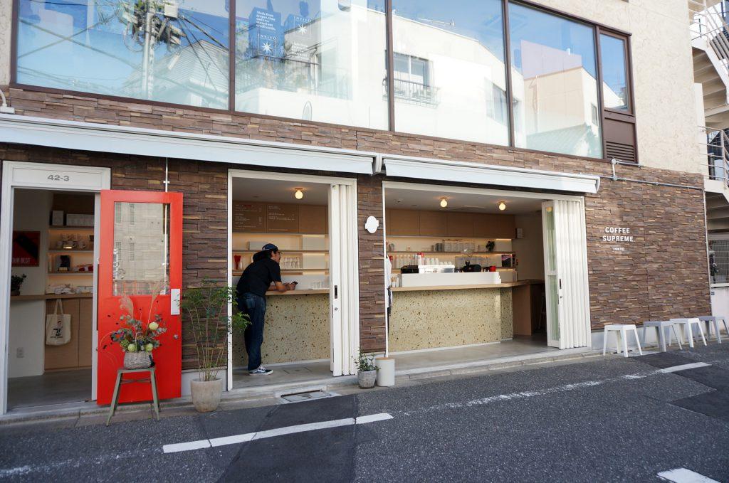 COFFEE SUPREME TOKYOの外観
