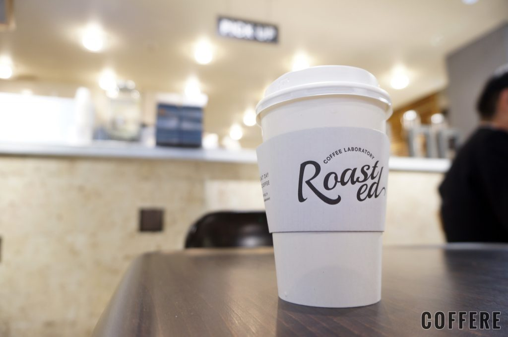 Roasted COFFEE LABORATORY 渋谷神南店のテイクアウトカップ