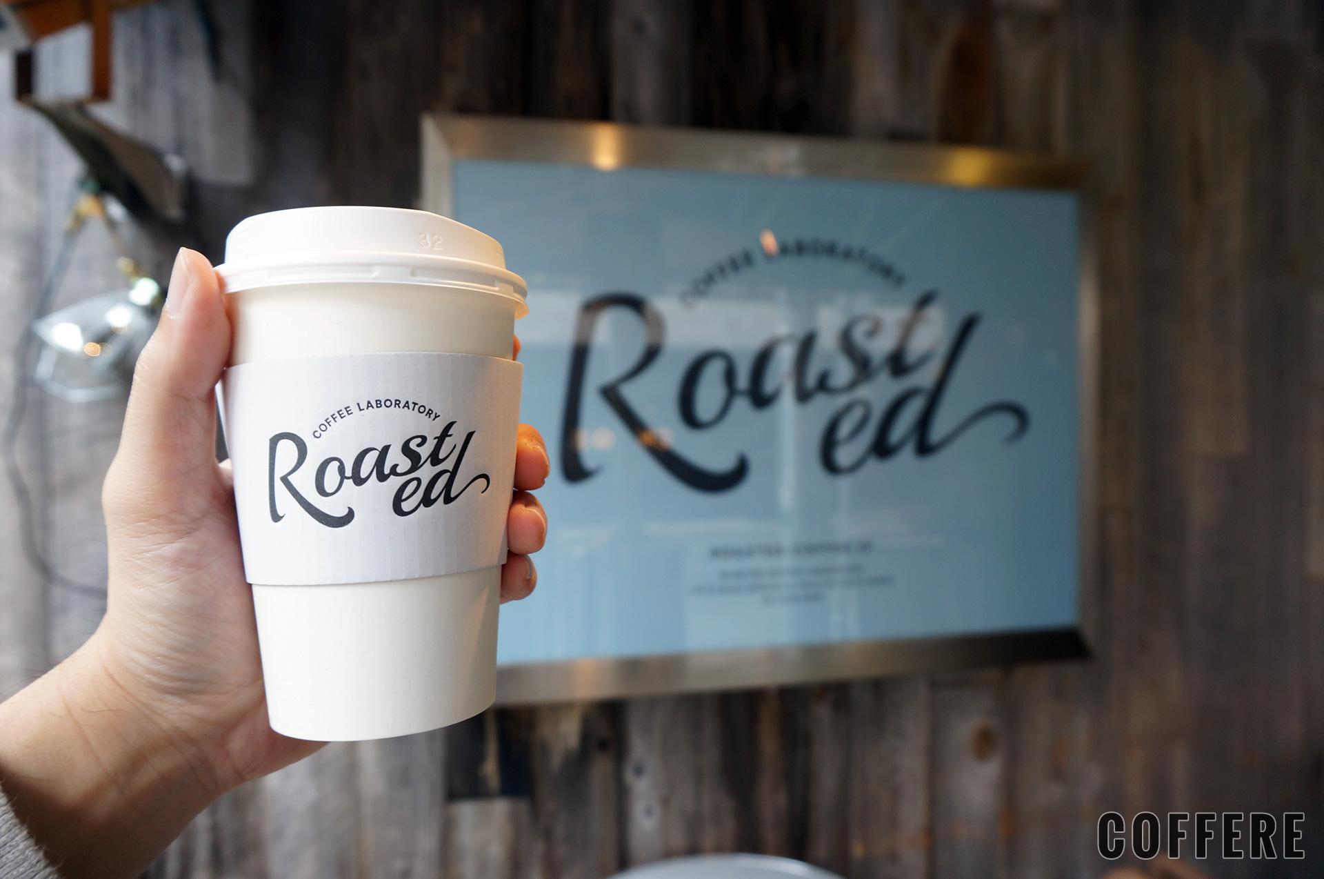 Roasted COFFEE LABORATORY 渋谷神南店の外のロゴ