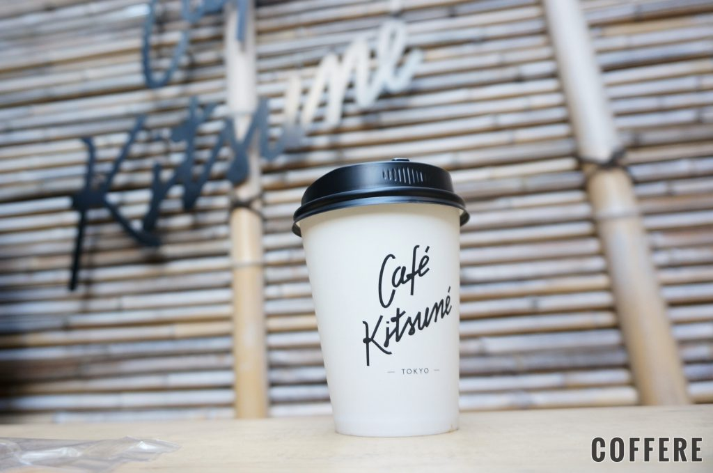 CAFE KITSUNEのテイクアウトカップデザイン