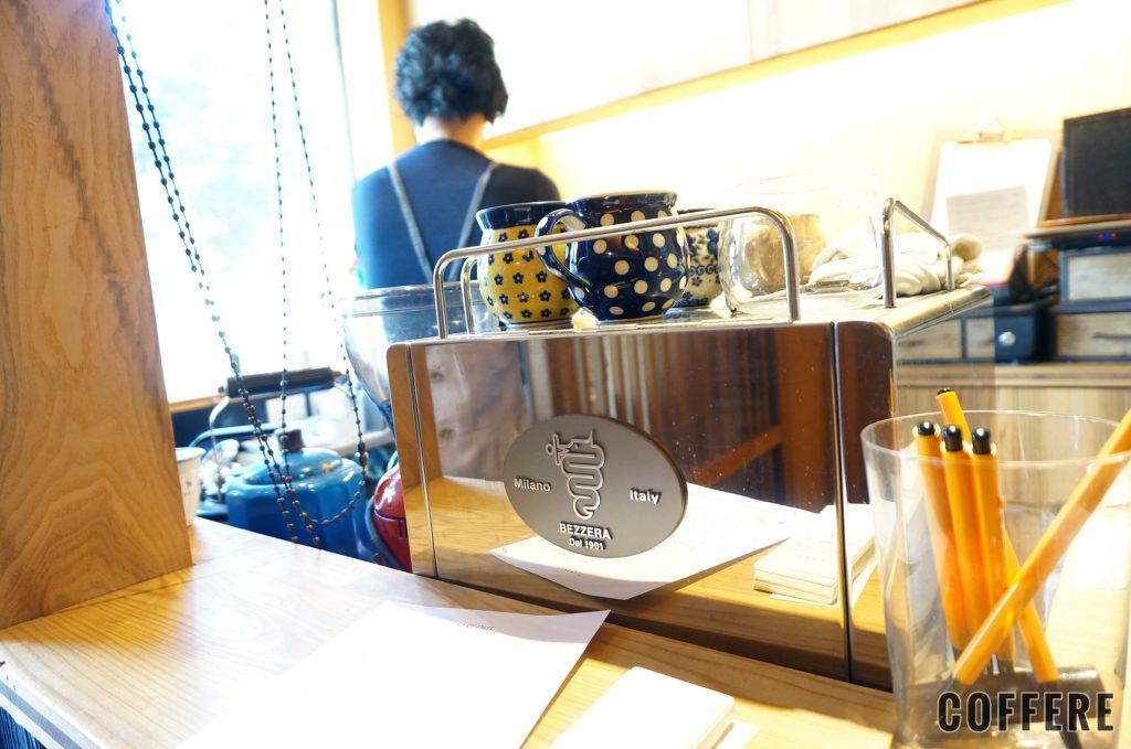 こぐま屋珈琲店のエスプレッソマシン