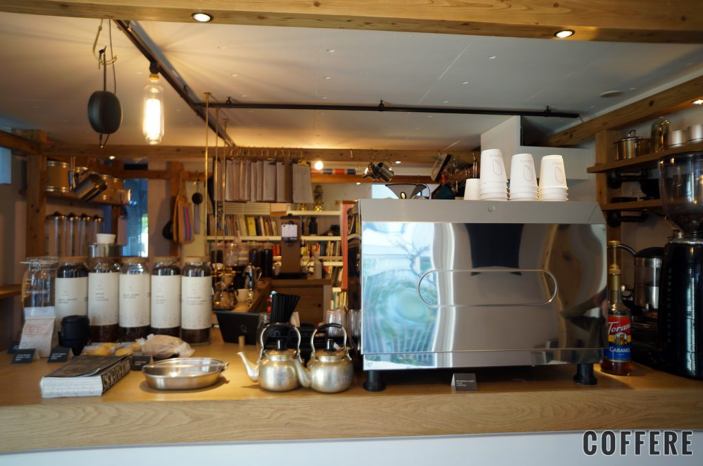 CHOP COFFEEの店内