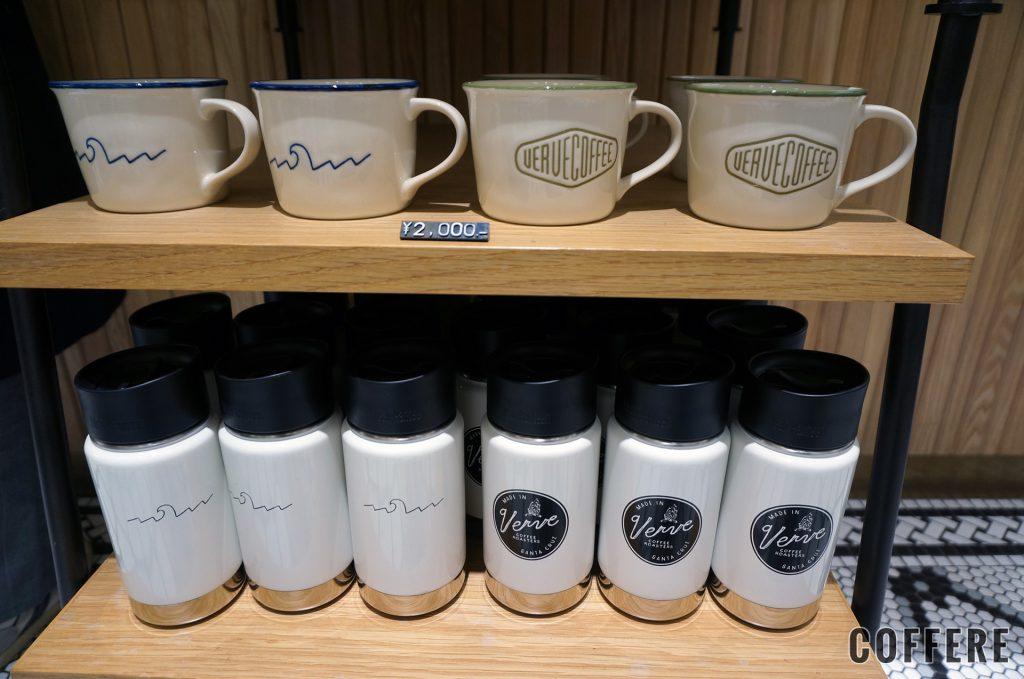 VERVE COFFEE ROASTERSのマグカップとタンブラー