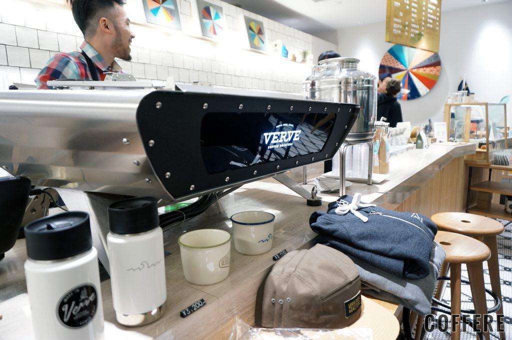 VERVE COFFEE ROASTERSのエスプレッソマシン