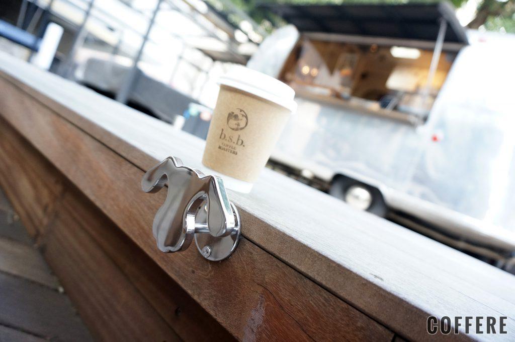 b.s.b. COFFEE ROASTERSはドッグフックあり