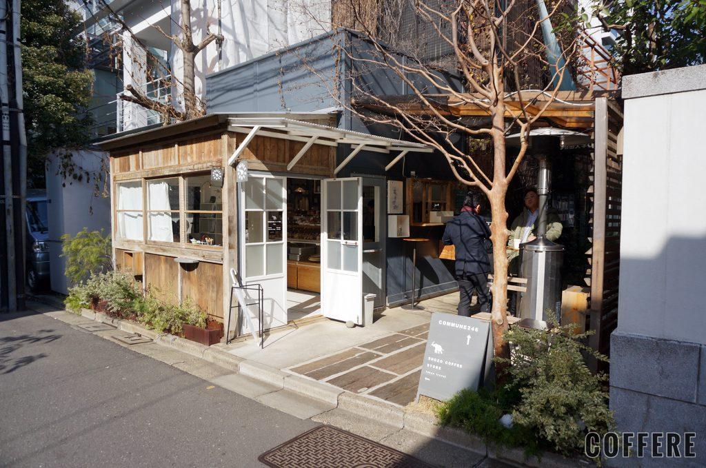 SHOZO COFFEE STORE TOKYOの外観