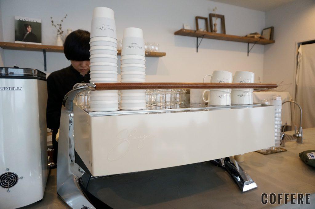 Siro Coffeeのエスプレッソマシン