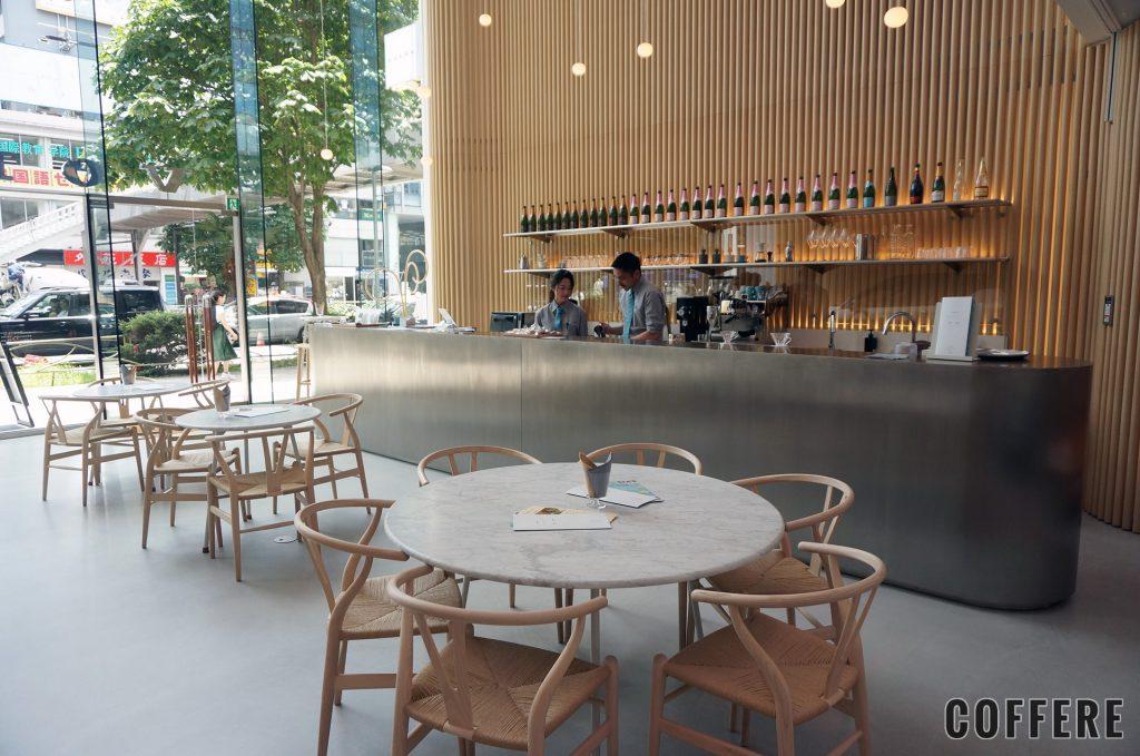 VOLVO STUDIO AOYAMAのカフェスペース