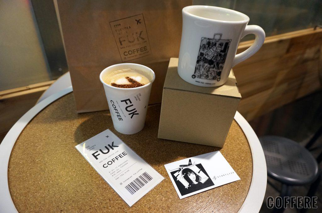 FUK COFFEEで購入したものたち