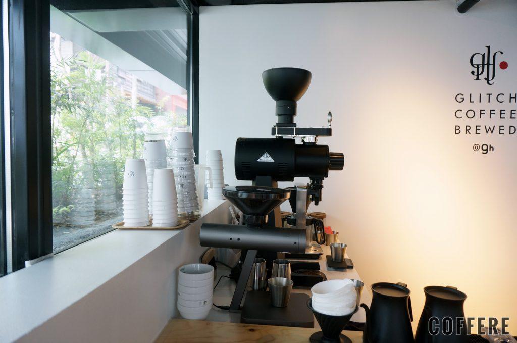 GLITCH COFFEE BREWEDのミル