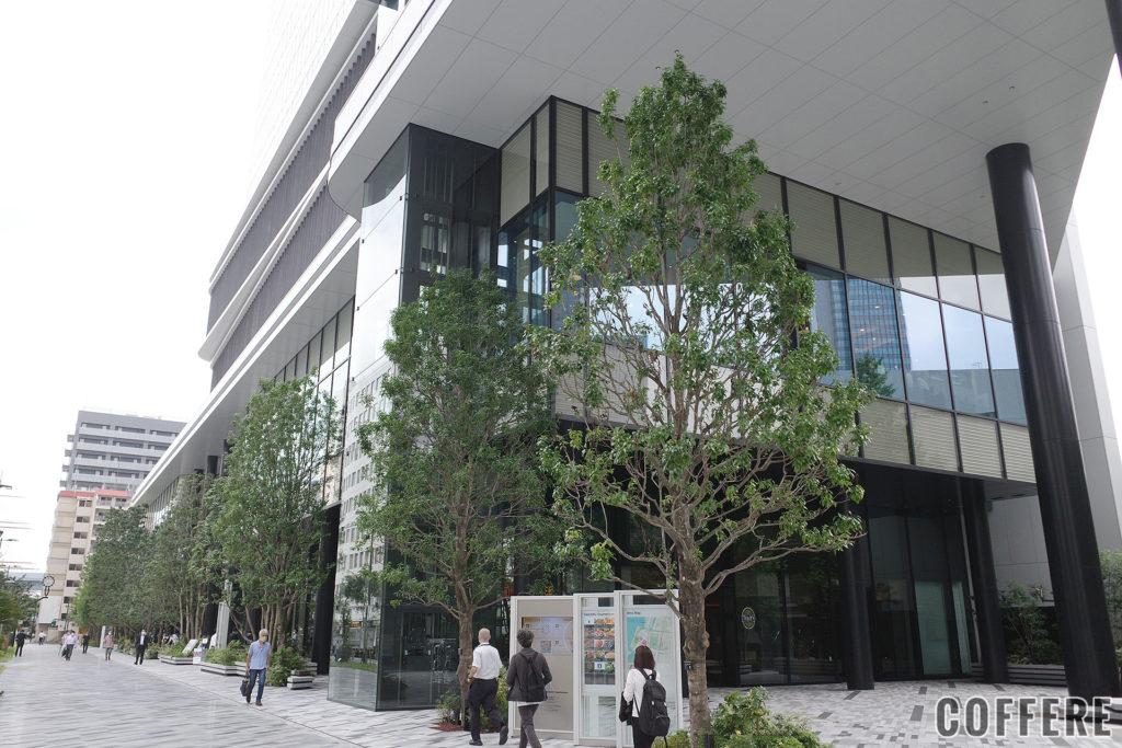 東京ポートシティ竹芝の外観