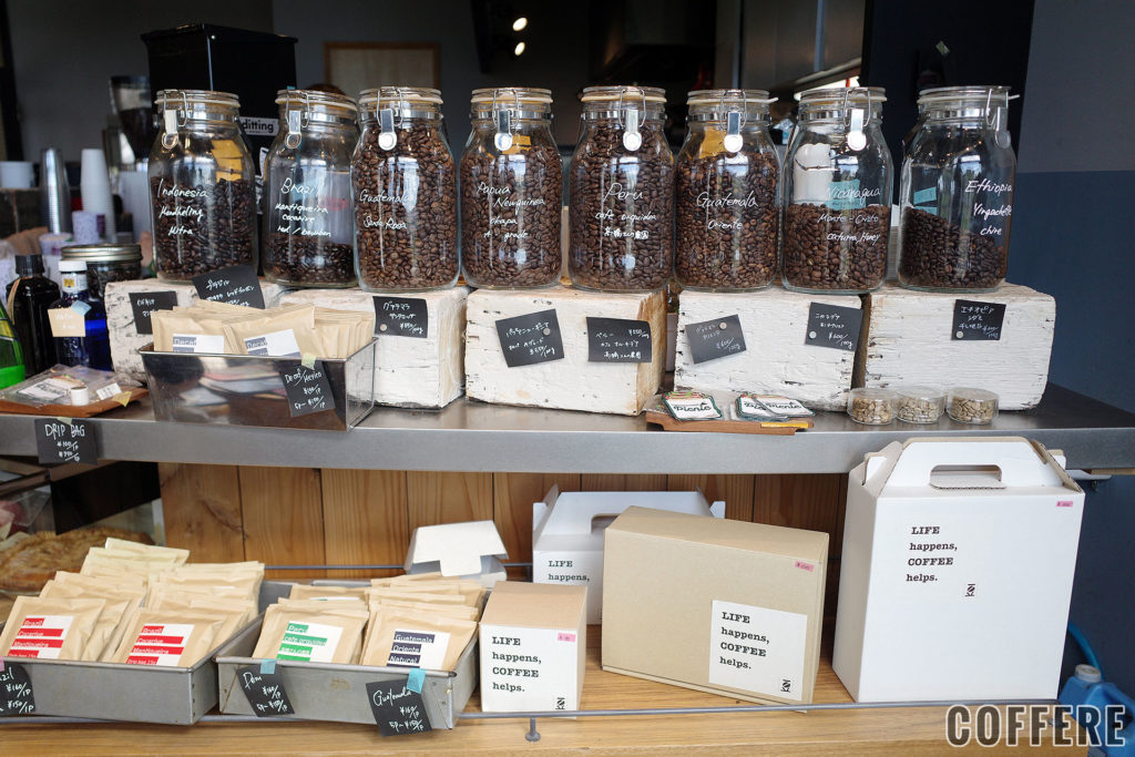 PIE&COFFEE mamenakanoのコーヒー豆