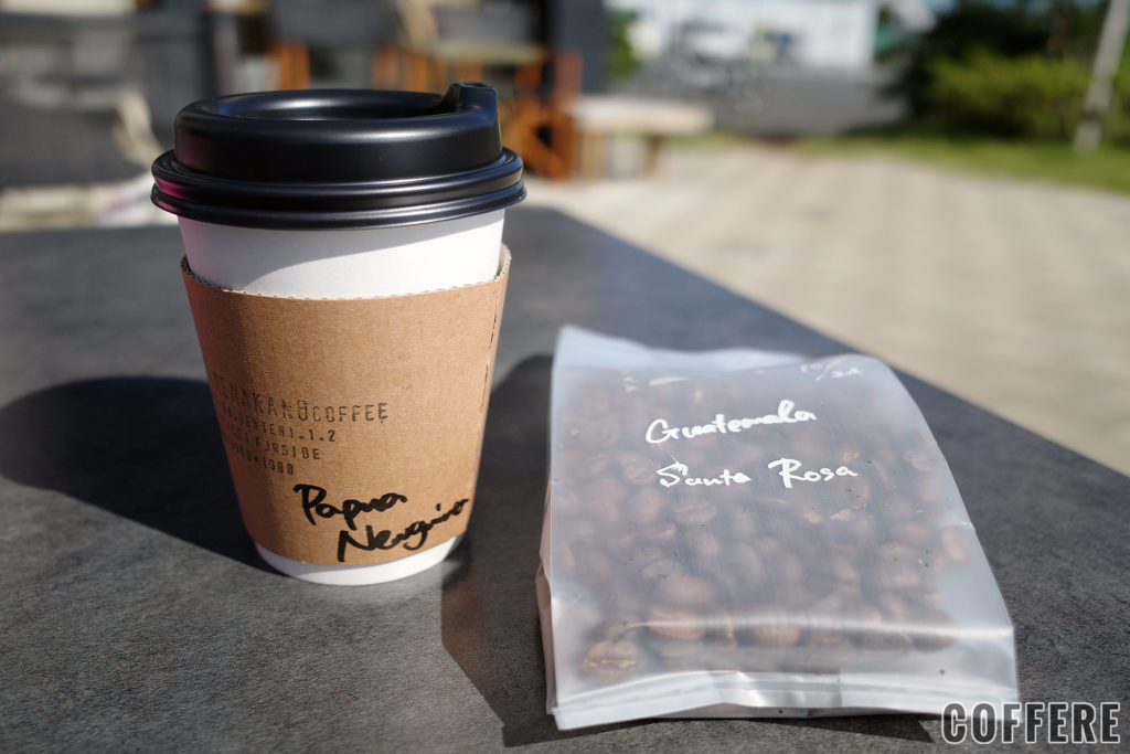 PIE & COFFEE mamenakanoのコーヒーとコーヒー豆