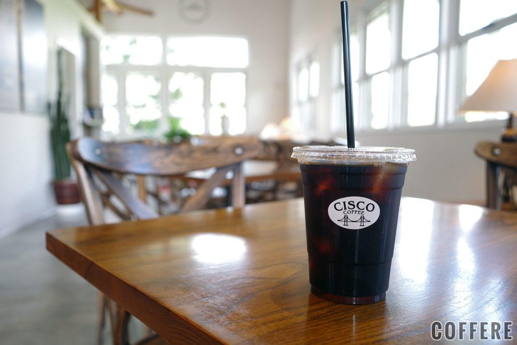CISCOのアイスコーヒー