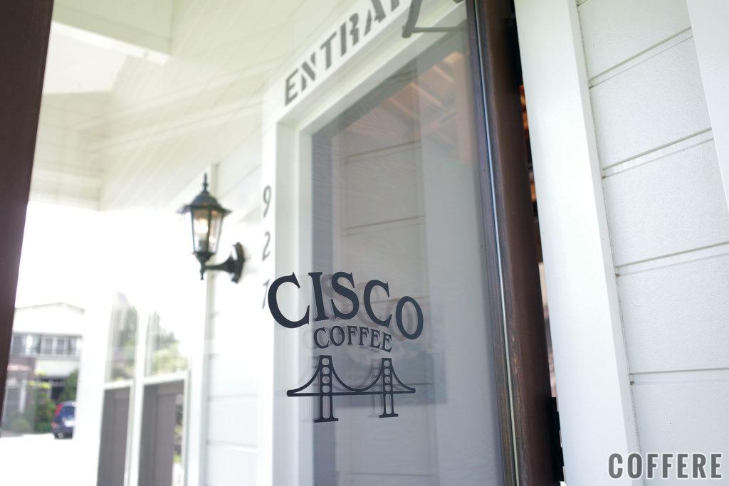 CISCOのドアのロゴ