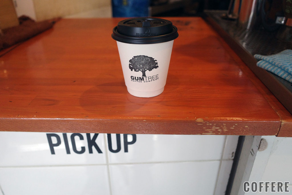 GUMTREE COFFEE COMPANYのホットラテS