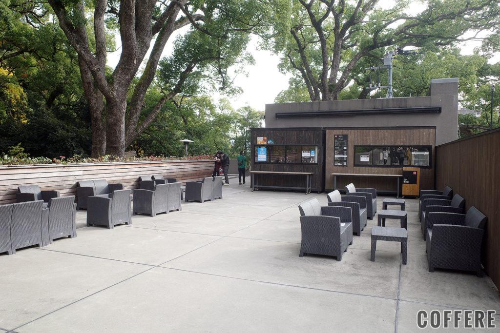 来宮神社 Stand Cafe 楠の香の外観