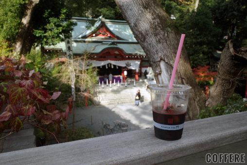 来宮神社 Stand Cafe 楠の香からの眺め